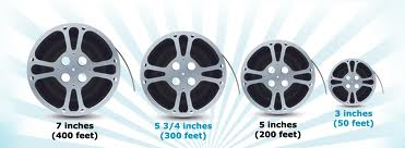 film reels diameters